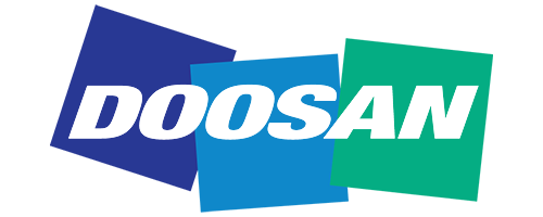 Doosan website logo resize