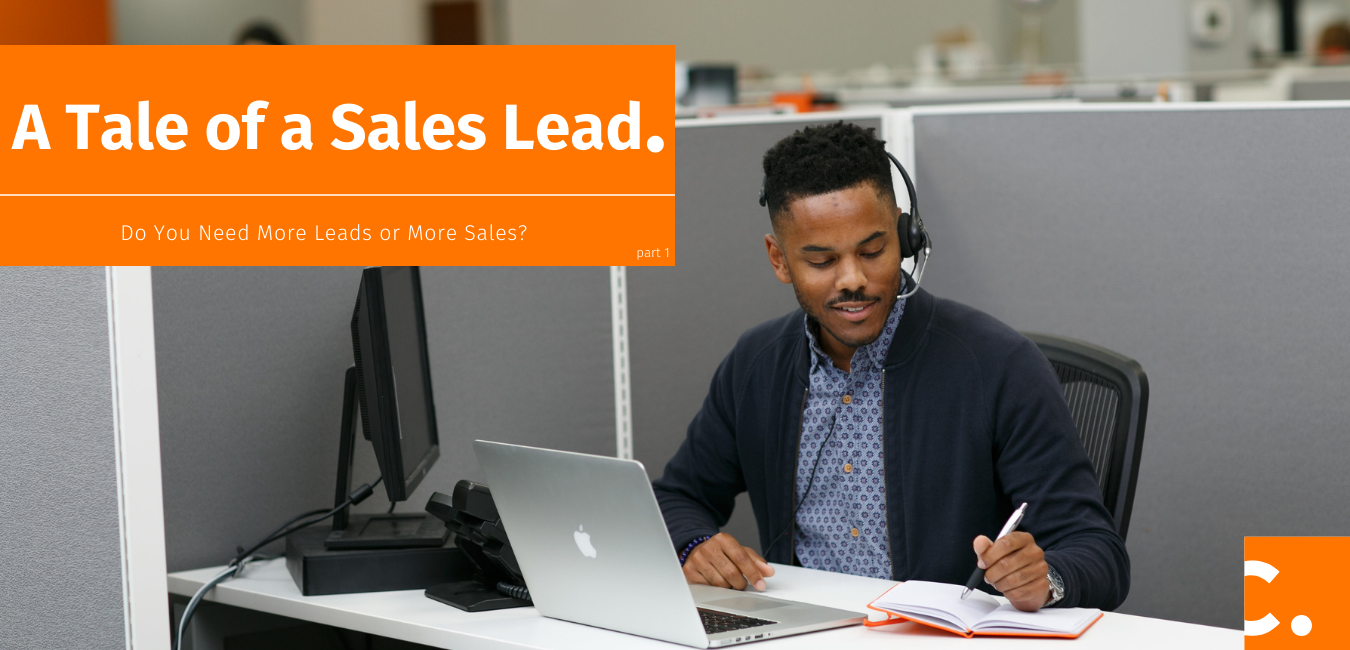 When figuring out if your company needs more sales leads or more sales, it's important to start with the basics of what a sales lead is.