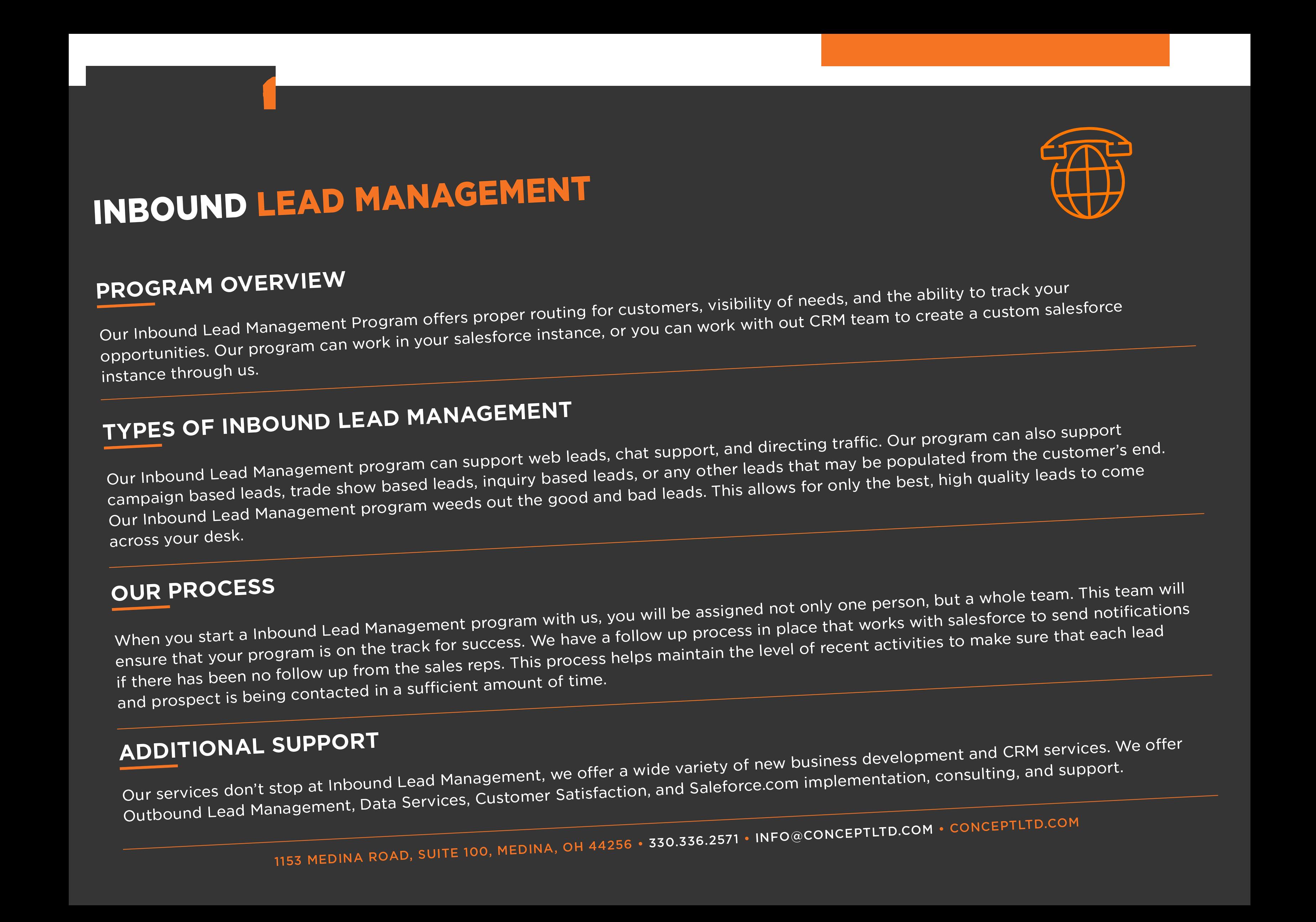 Inbound Lead Management