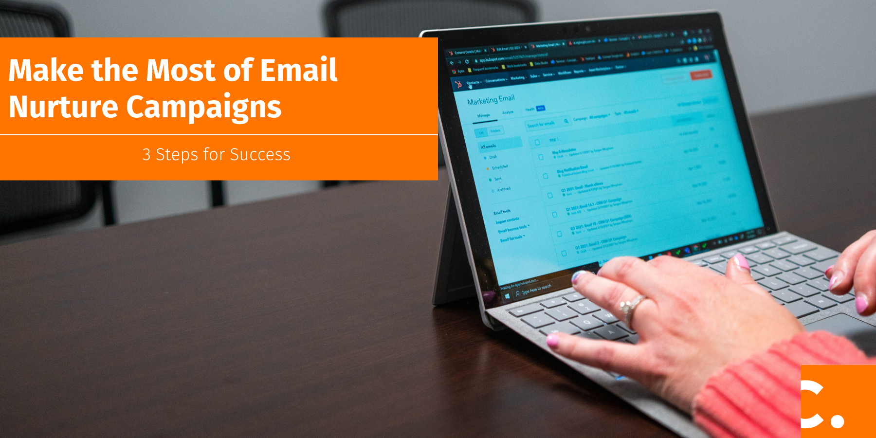 Email nurture campaigns are a great sales and marketing strategy to nuture leads through your sales process until they're ready to buy.