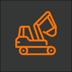 construction equipment icon